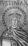 Byzantine emporor Justinian