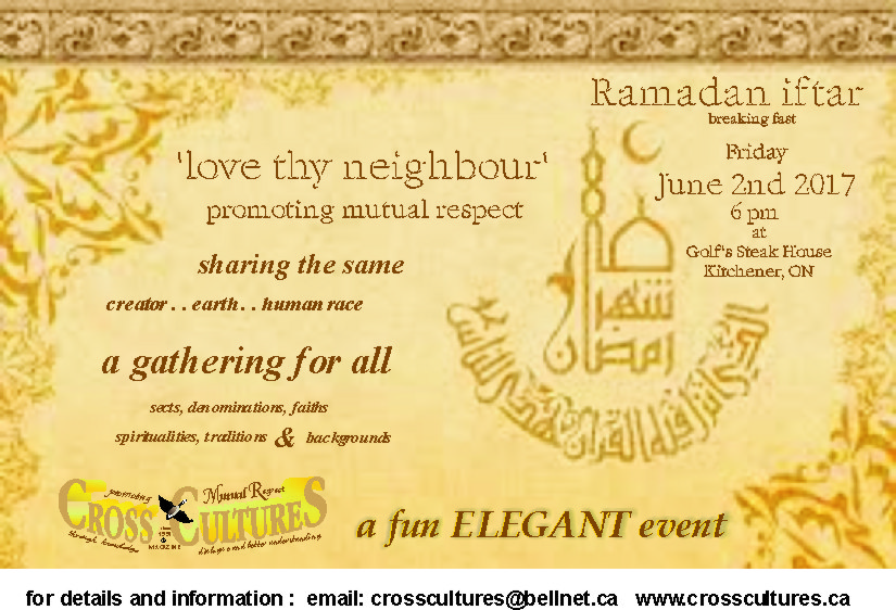 2017 love thy neighbour IFTAR