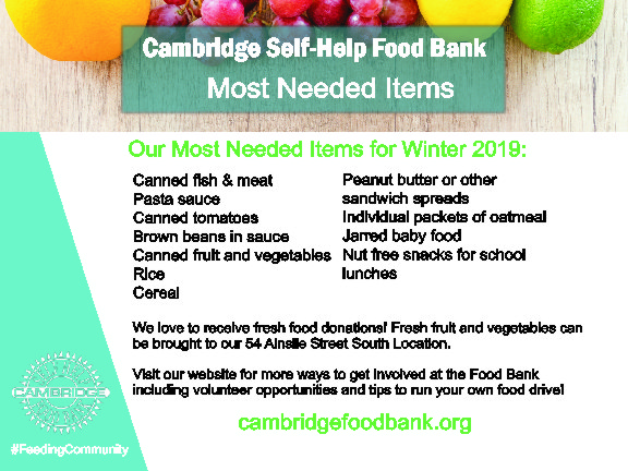 Cambridge Food Bank most needed items Jan 2019 MINE crv 6x4 5 JPEG